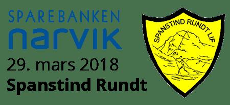 Spanstind Rundt 29. mars 2018